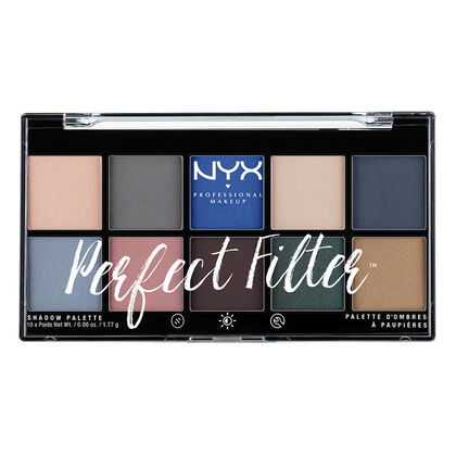 Perfect Filter Shadow Palette Marine Layer   NYX Cosmetics