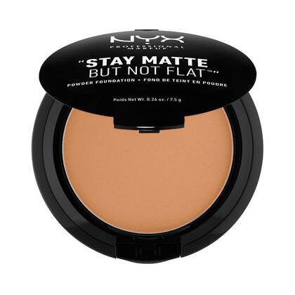 Stay Matte But Not Flat Powder Foundation Chestnut | NYX Cosmetics