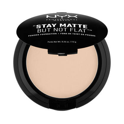 Stay Matte But Not Flat Powder Foundation Nude | NYX Cosmetics
