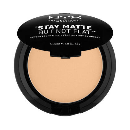 Stay Matte But Not Flat Powder Foundation Warm Beige | NYX Cosmetics
