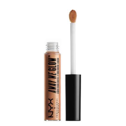 Away We Glow Highlighter Gold Rush | NYX Cosmetics