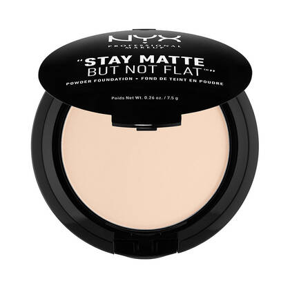 Stay Matte But Not Flat Powder Foundation Alabaster | NYX Cosmetics