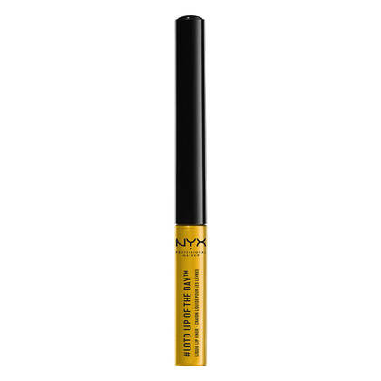 Lip of the Day Liquid Lip Liner Sunlit NYX Cosmetics