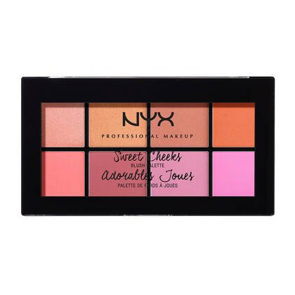 Sweet Cheeks Blush Palette NYX Cosmetics