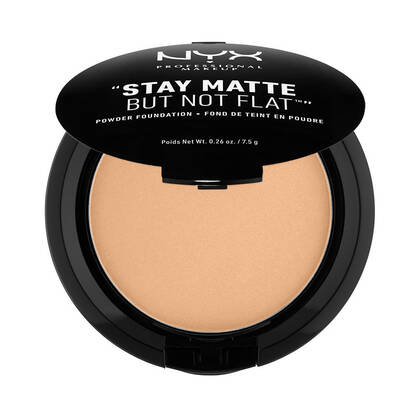 Stay Matte But Not Flat Powder Foundation Golden Beige | NYX Cosmetics