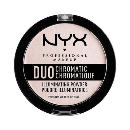 Duo Chromatic Illuminating Powder Snow Rose | NYX Cosmetics