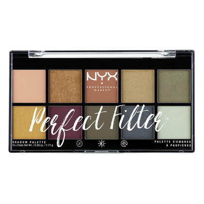 Perfect Filter Shadow Palette Olive You | NYX Cosmetics