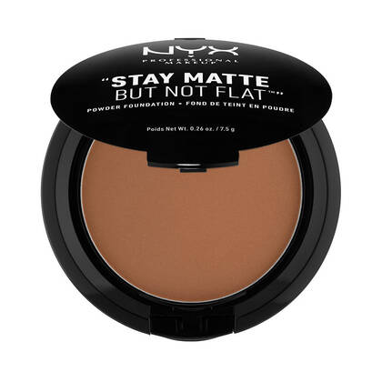 Stay Matte But Not Flat Powder Foundation Deep Dark | NYX Cosmetics