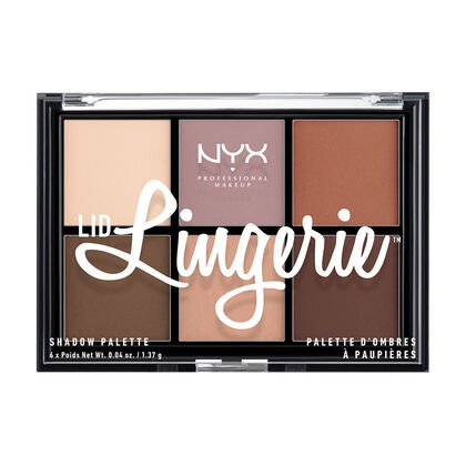 Lid Lingerie Shadow Palette | NYX Cosmetics