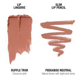 Lip Lingerie Lippie Duo - Ruffle Trim & Peekaboo Neutral