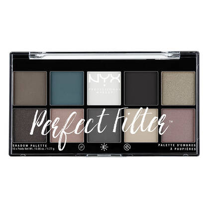 Perfect Filter Shadow Palette Gloomy Days | NYX Cosmetics