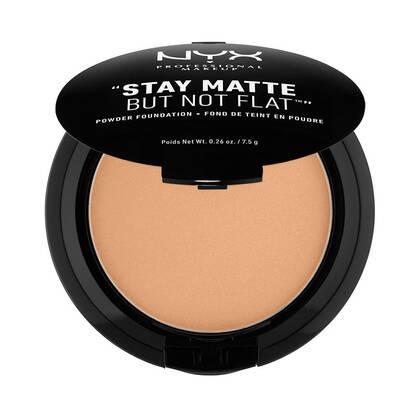Stay Matte But Not Flat Powder Foundation Caramel | NYX Cosmetics