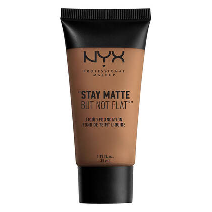 Stay Matte but not Flat Liquid Foundation Deep Rich NYX Cosmetics