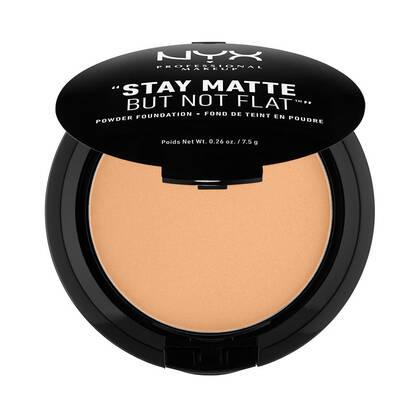 Stay Matte But Not Flat Powder Foundation Soft Beige   NYX Cosmetics