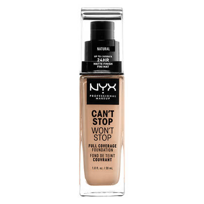 CAN'T STOP WON'T STOP FULL COVERAGE MATTE FOUNDATION 24/HOURS Price: $  18 00 Rating 4 3 of 5 453 reviews