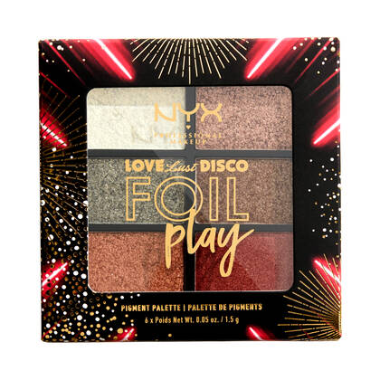 Love Lust Disco Foil Play Pigment Palette