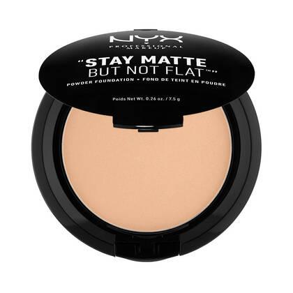Stay Matte But Not Flat Powder Foundation Medium Beige | NYX Cosmetics