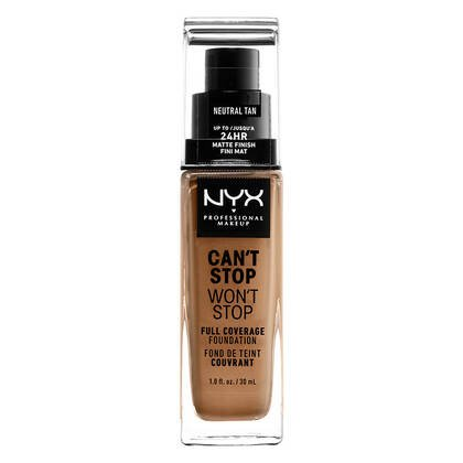 CAN'T STOP WON'T STOP FULL COVERAGE MATTE FOUNDATION 24/HOURS
