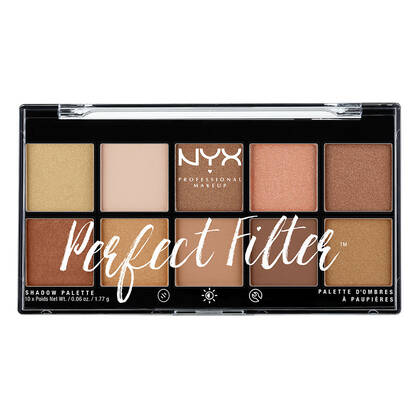 Perfect Filter Shadow Palette Golden Hour | NYX Cosmetics