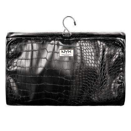 Black Croc Deluxe Travel Bag