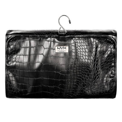 Black Croc Deluxe Travel Bag