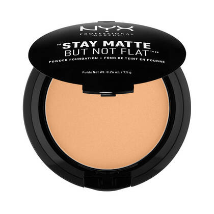 Stay Matte But Not Flat Powder Foundation Soft Beige | NYX Cosmetics