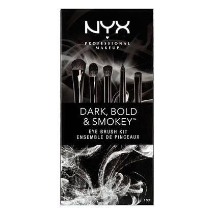 Dark, Bold & Smokey Eye Brush Set NYX Cosmetics