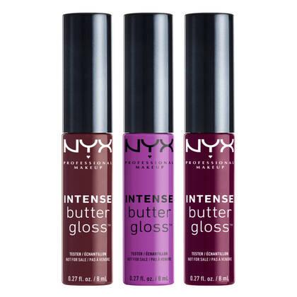 Brillants à Lèvres Intense Ultra-Crémeux, ensemble 4