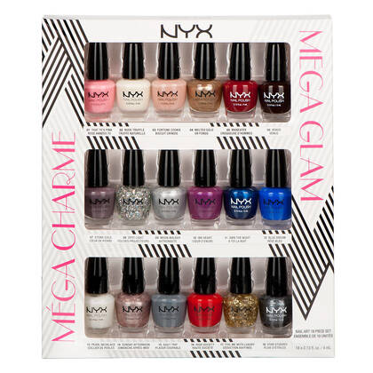 Mega Glam Nail Art Collection NYX Cosmetics