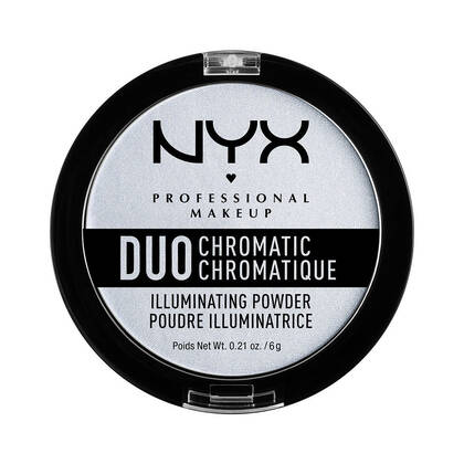 Duo Chromatic Illuminating Powder   NYX Cosmetics