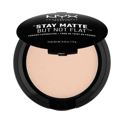 Stay Matte But Not Flat Powder Foundation Porcelain | NYX Cosmetics
