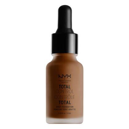 Fond de teint liquide Contrôle Total Chestnut | NYX Cosmétiques