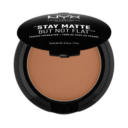 Stay Matte But Not Flat Powder Foundation Cocoa | NYX Cosmetics