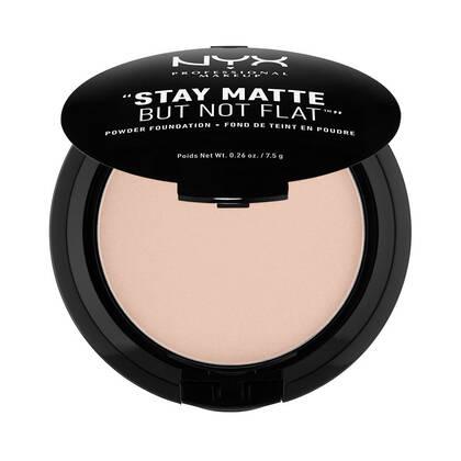 Stay Matte But Not Flat Powder Foundation Creamy Natural | NYX Cosmetics