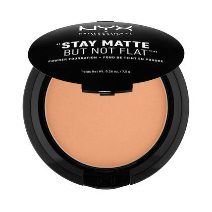 Stay Matte But Not Flat Powder Foundation Tawny | NYX Cosmetics