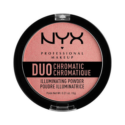 Duo Chromatic Illuminating Powder Crushed Bloom | NYX Cosmetics
