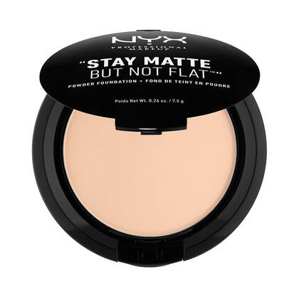 Stay Matte But Not Flat Powder Foundation Light Beige | NYX Cosmetics