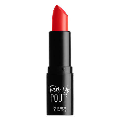Pin-Up Pout Lipstick Fiery | NYX Cosmetics Canada
