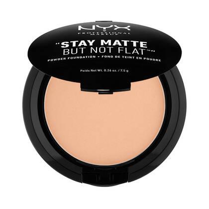 Stay Matte But Not Flat Powder Foundation Warm | NYX Cosmetics