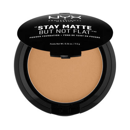 Stay Matte But Not Flat Powder Foundation Cinnamon Spice | NYX Cosmetics