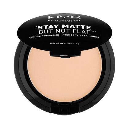 Stay Matte But Not Flat Powder Foundation Natural | NYX Cosmetics