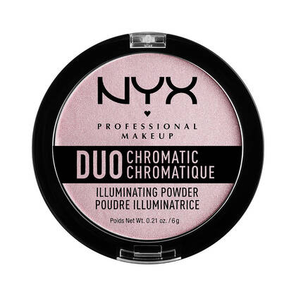 Duo Chromatic Illuminating Powder Lavender Steel | NYX Cosmetics