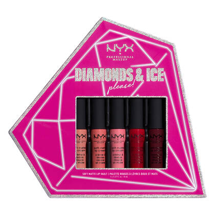 Diamonds & Ice, Please Soft Matte Lip Vault