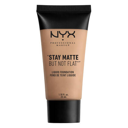Stay Matte but not Flat Liquid Foundation Soft Sand NYX Cosmetics