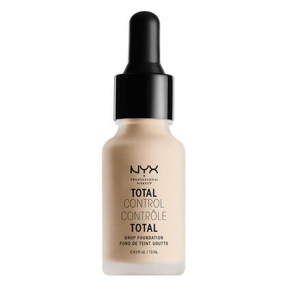 Total Control Drop Foundation Alabaster | NYX Cosmetics