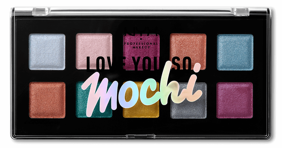 Love you so Mochi eyeshadow palette Electric Pastel closed palette